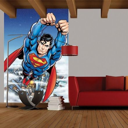 Superman wall mural wallpaper
